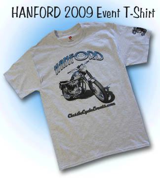 Hanford Classic Motorcycle Event T-Shirt 2009