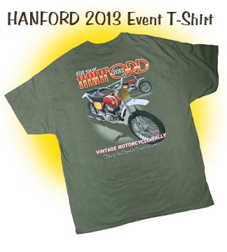 Hanford 2013 Event Shirts